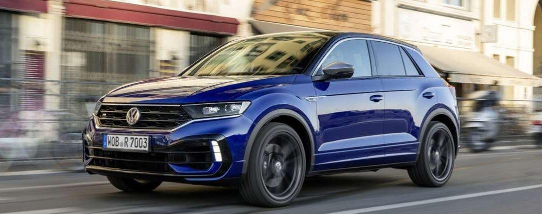 Der neue VW T-ROC R ist eingetroffen
