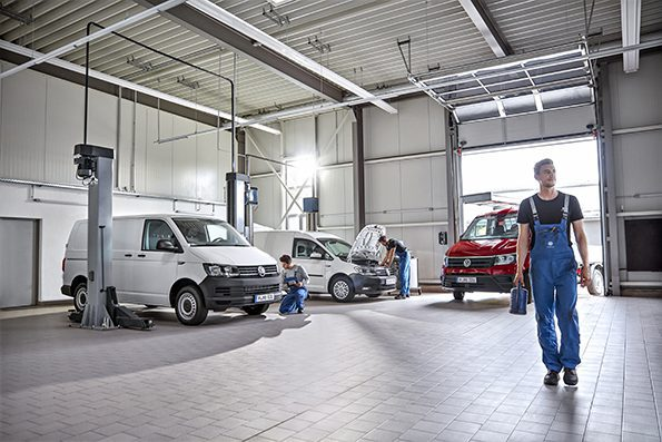 VW Nutzfahrzeug Servicestelle