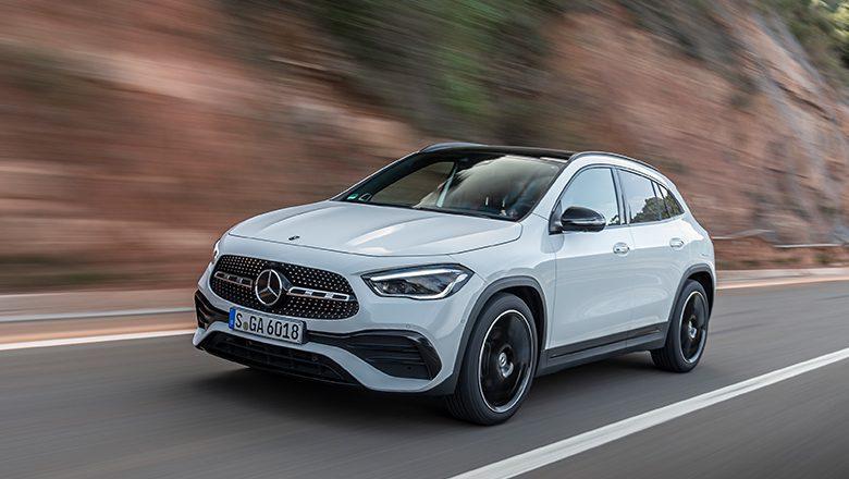 Der neue Mercedes-Benz GLA