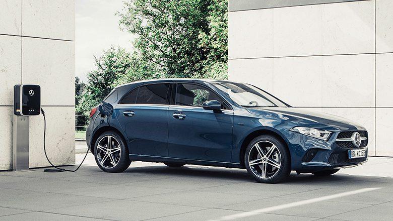 Der neue Mercedes-Benz A250e Plug-in-Hybrid