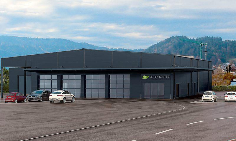 Neueröffnung LIGA Reifen Center