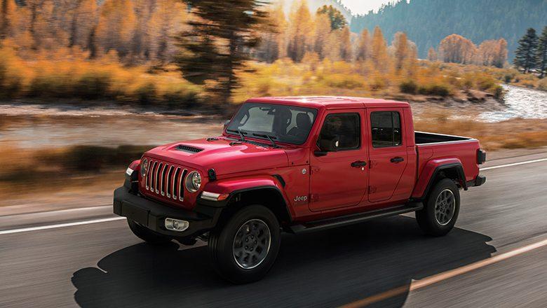 Der neue Jeep Gladiator 4×4 – der Pick-up mit Jeep Talenten