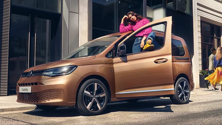 Der neue VW Caddy (2021) – bereit für alles, was kommt.
