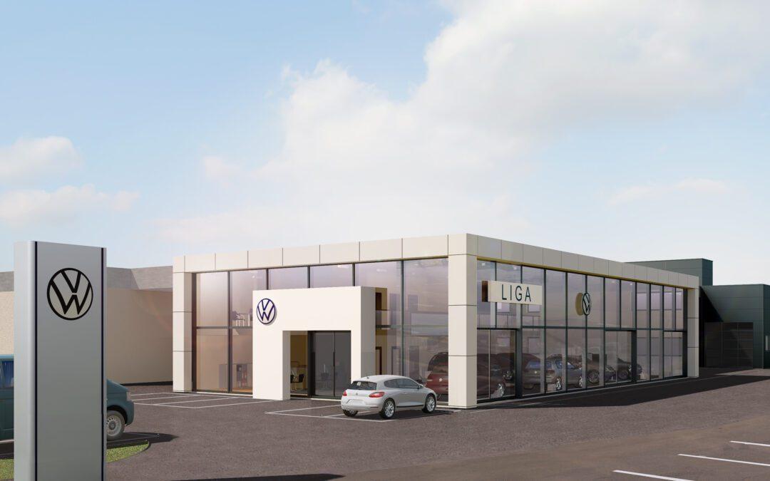 Neuer Standort für VW und VW Nutzfahrzeuge
