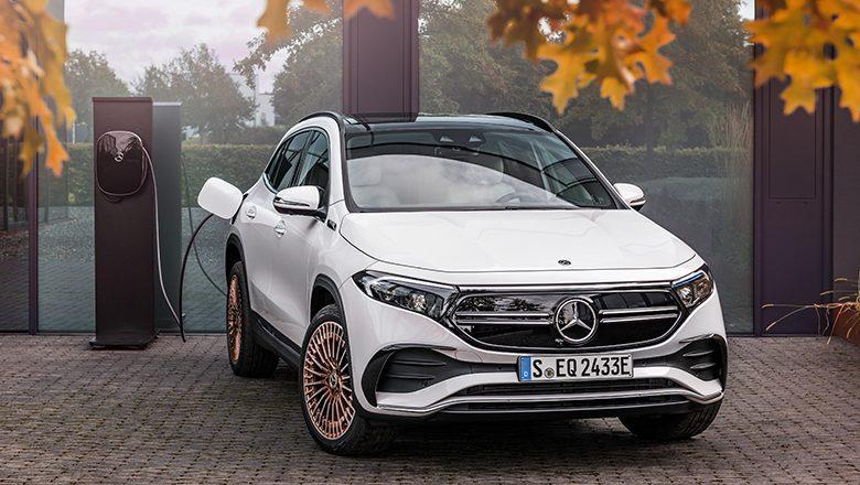 Der neue elektrische Mercedes-Benz EQA