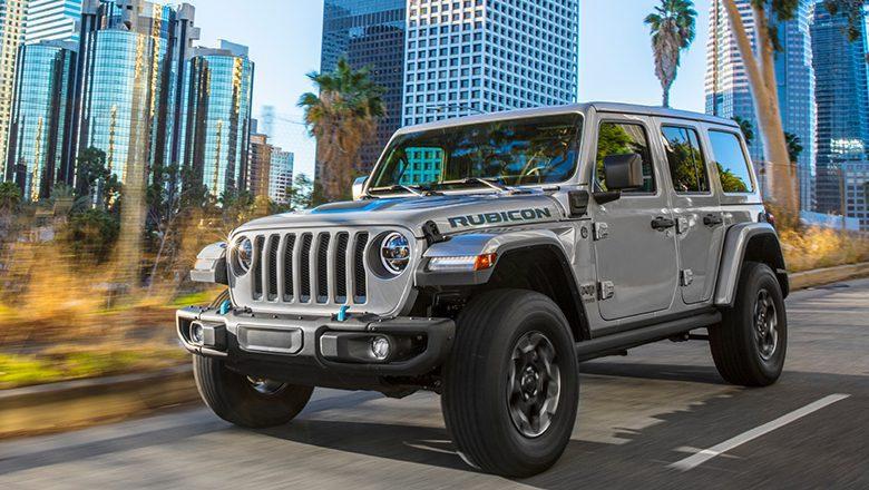 Der neue Jeep Wangler 4XE Plug-In-Hybrid (2021)