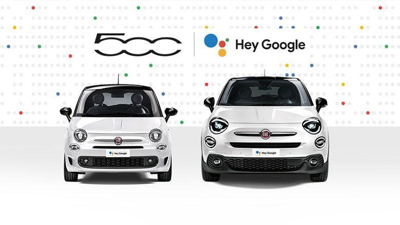 Hey Google Modelle | Fiat 500 & Fiat 500X