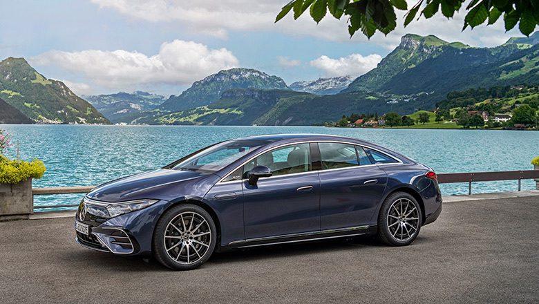 Mercedes EQS – die vollelektrische S-Klasse